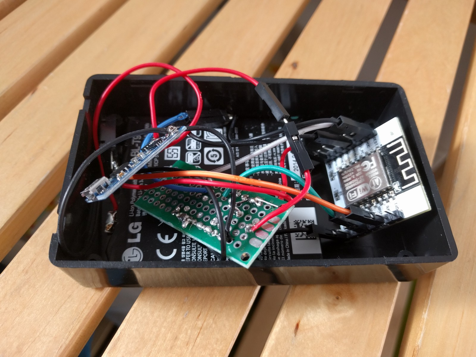 Iot Analytics With Qlik Sense Branch Circuit Prototyping Software The Device Is Powered By Lipo Battery Pack That Protected A Tp4056 Charger And Regulated Ht7333 Ldo Voltage Measured