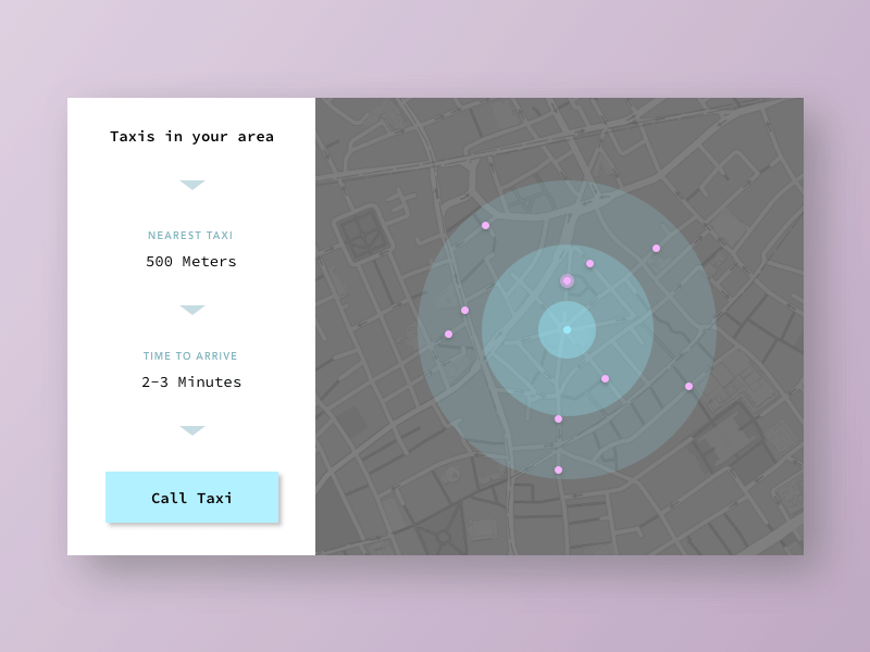 maps in ui design � inspiration supply � medium