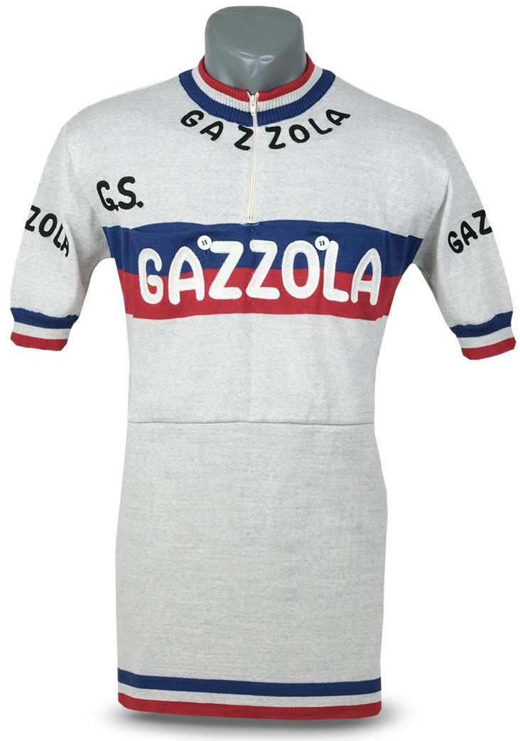 This GAZZOLA jersey was worn by Luxembourgish cyclist Charly Gaul. Charly  Paul is the most famous Luxembourgish cyclist. He specialised in climbing  and was ... acf1026aa