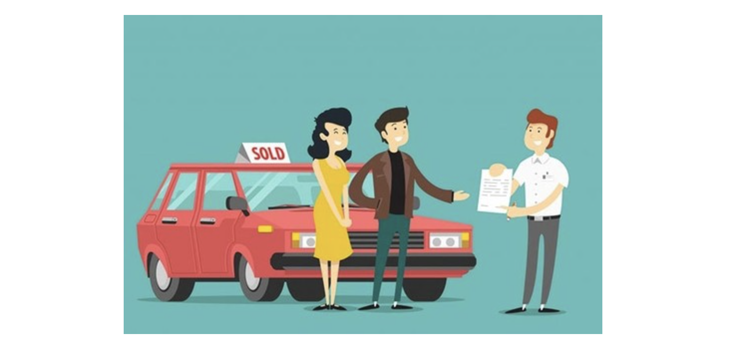 Resale of cars to customers