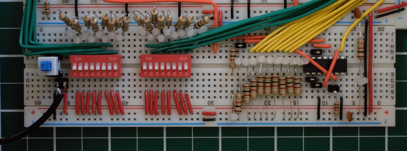 redditor builds 8 bit alu using only nand gates and a lot of timeredditor notbookies took advantage of that fact to create something truly impressive an alu (arithmetic logic unit) constructed entirely of nand gates