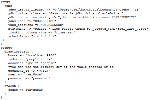 It contains the value that is used as the reference to select data to be retrieved. Initially this is set to Thursday ...  sc 1 st  Medium & Pushing Relational Data to Elasticsearch using Logstash JDBC input ...