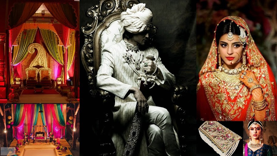 Mughal Wedding Themes Depicts The Royal And Traditional Way Of Celebration Which Was Carried Out In Ancient Era It Showcases