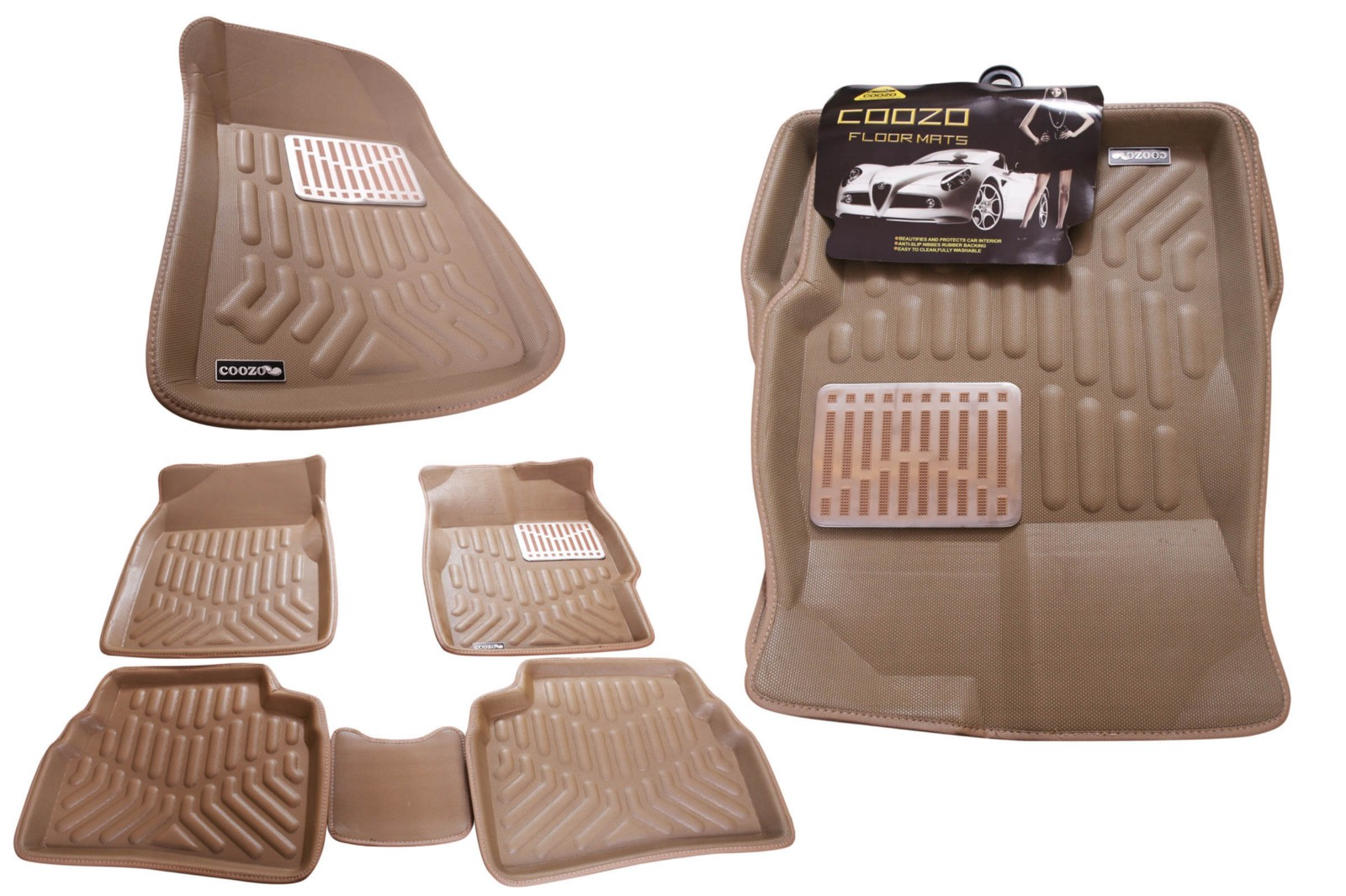 Car Floor Mats Coozo India Medium