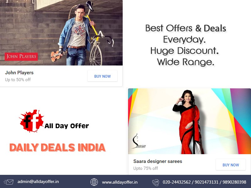 ab1eb84f88a9 Latest Offers   Affordable deals Online Shopping in India