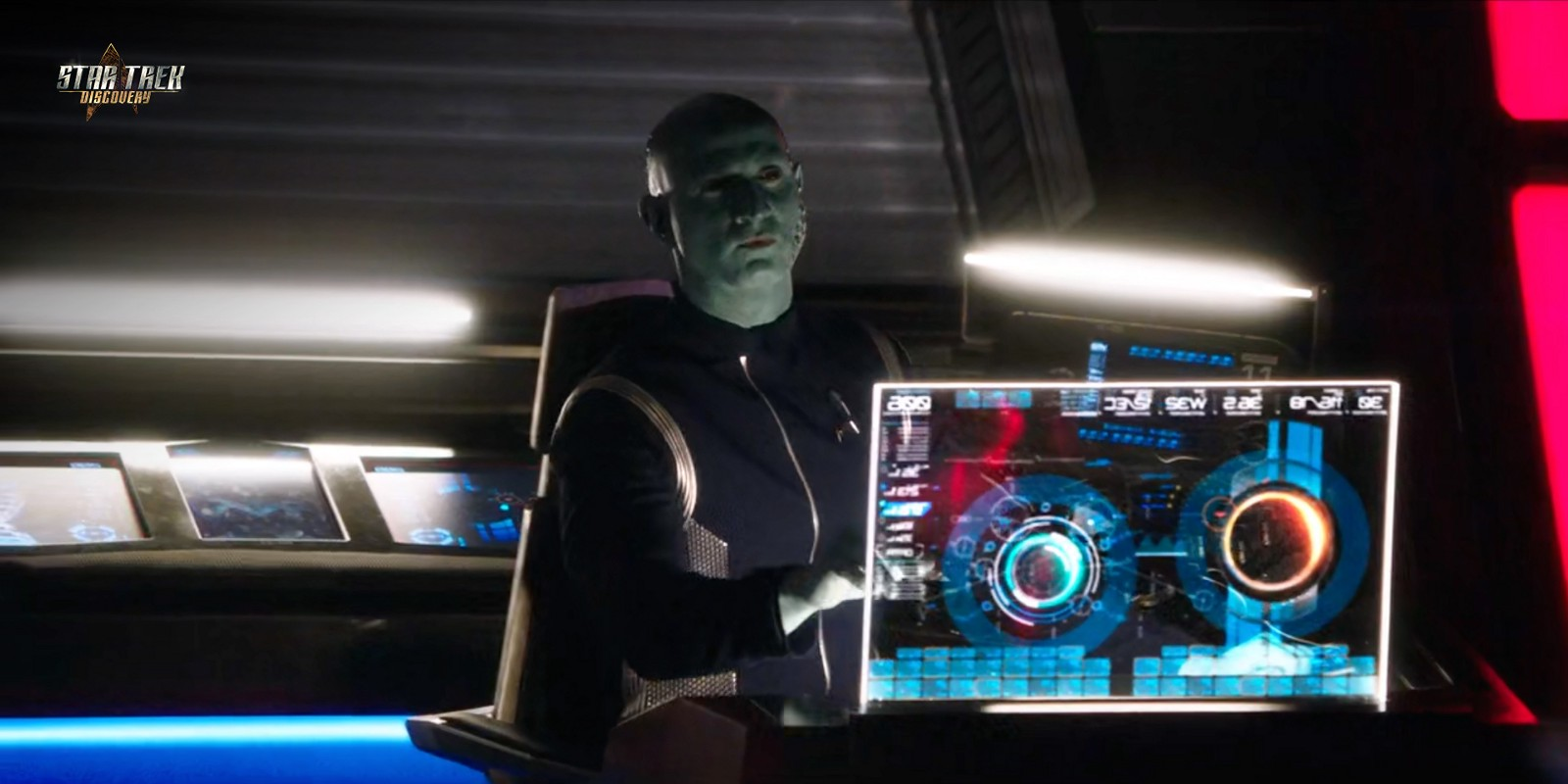 HiTech Builder high quality HUD in Star Trek Discovery
