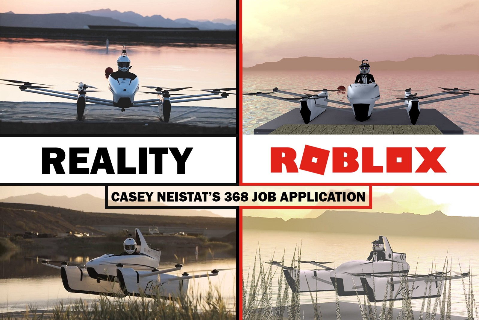 How I Applied To The Casey Neistats Job Position Using Roblox And Vr