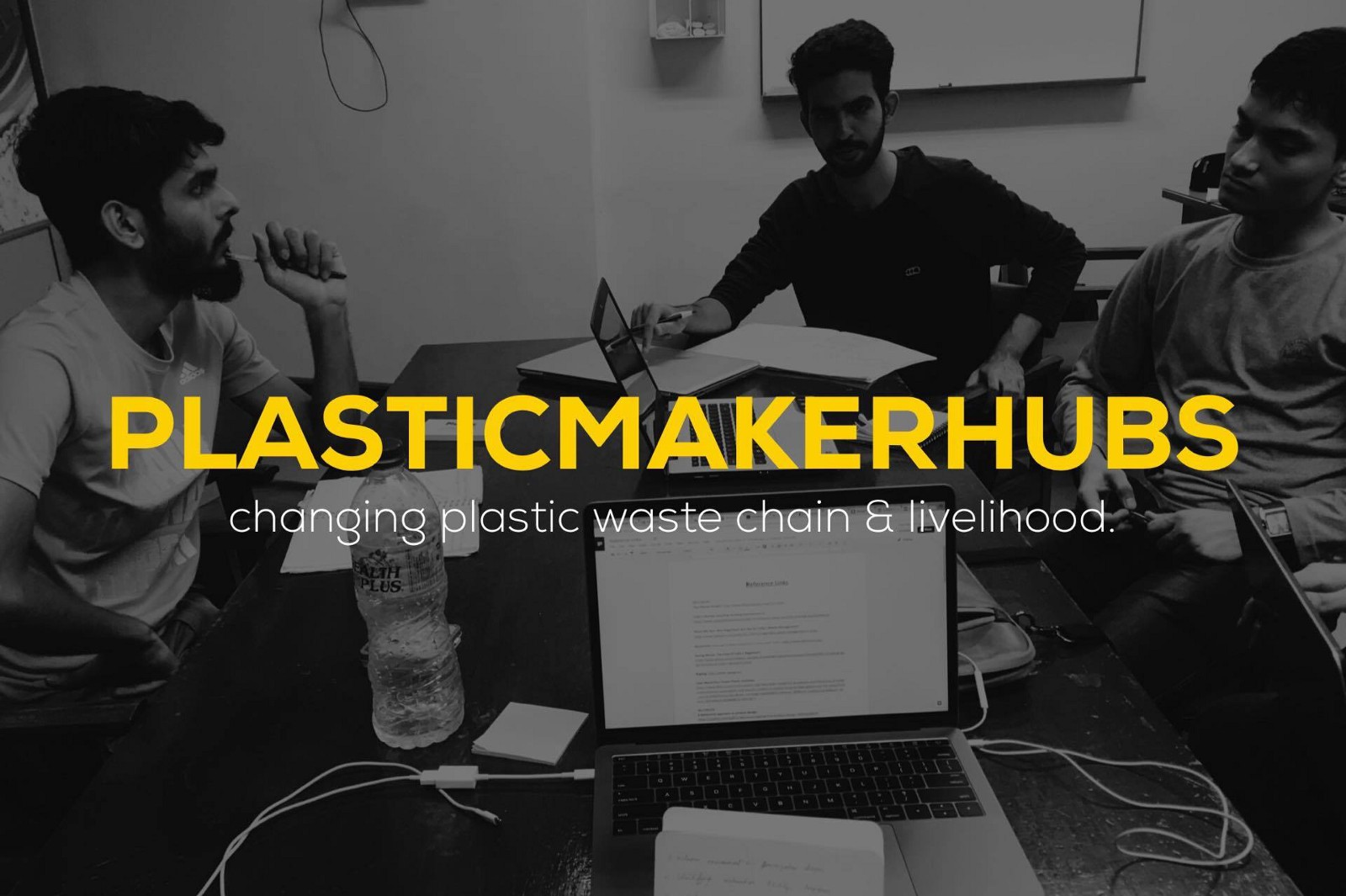 reduce reuse and recycle a chat with plastic maker hubs