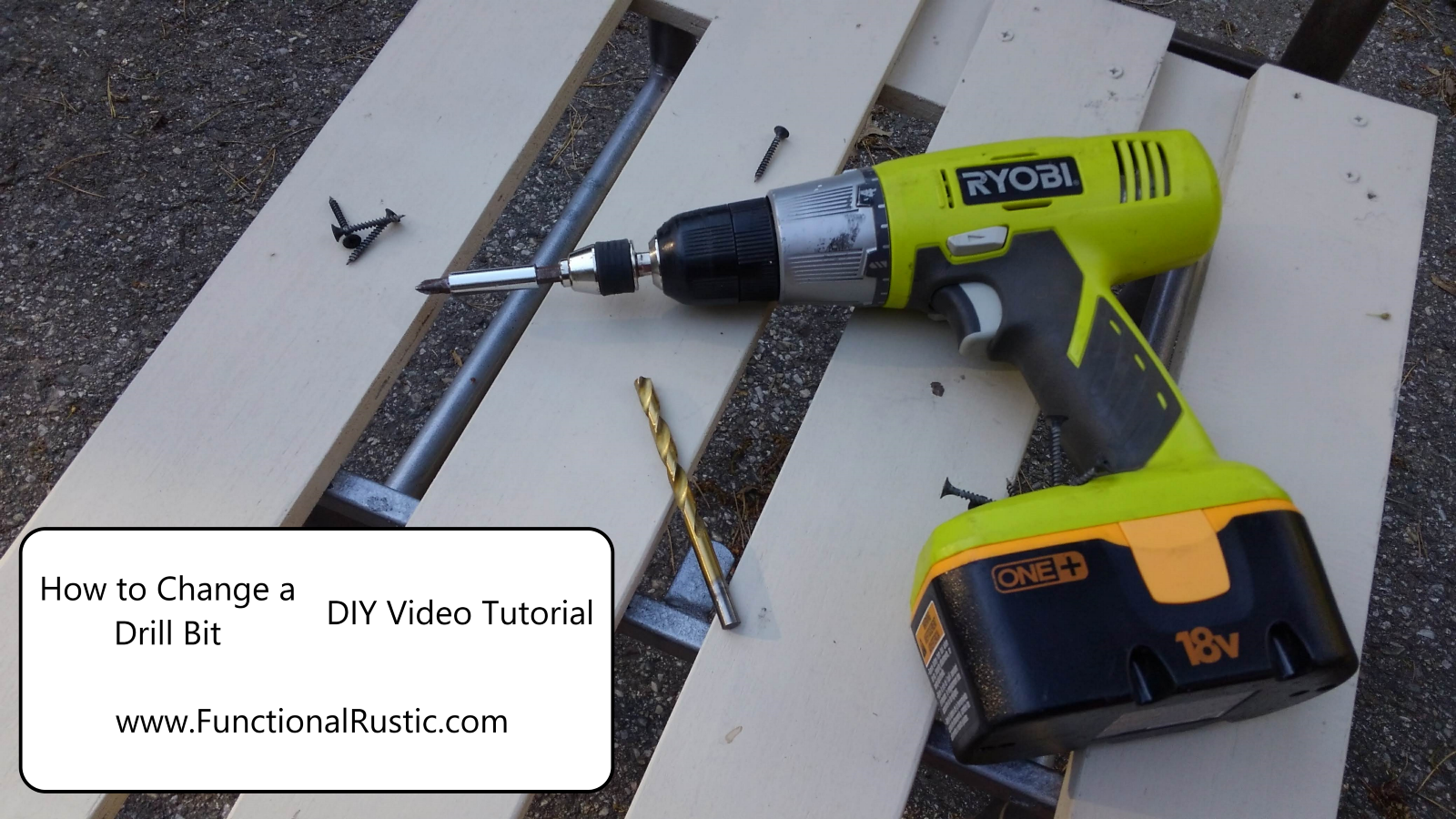 Watch How to Change a Drill Bit video