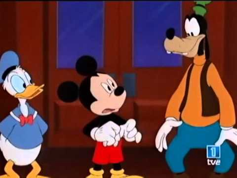 Donald Duck Mickey Mouse And Goofy