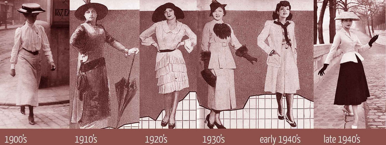 The Fashionable Past Fashion History From 1900 1940