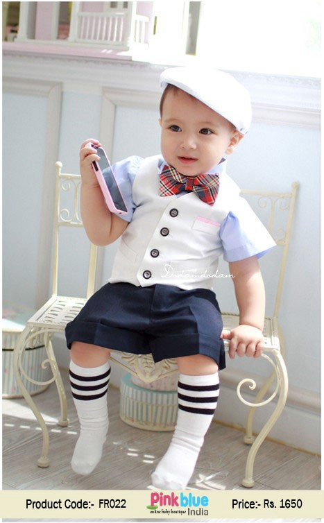 Cute First Birthday Outfits Ideas for Baby Boys in India
