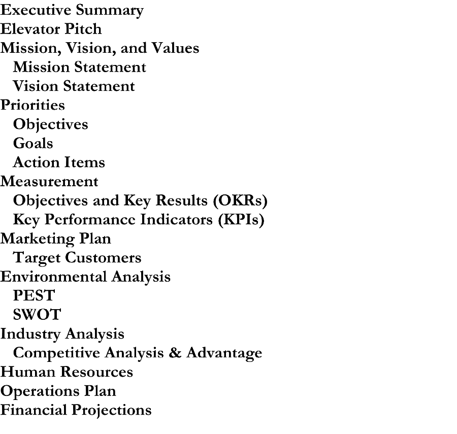 objectives of environmental analysis
