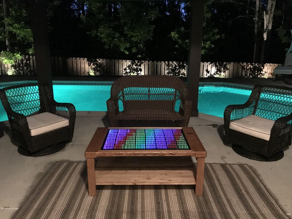 Looking For A Beautiful, Interactive Coffee Table Thatu0027ll Leave Your Guests  U201camazed, Bewildered, And Maybe Just A Little Dizzy,u201d Check Out Bongoboy27u0027s  Full ...
