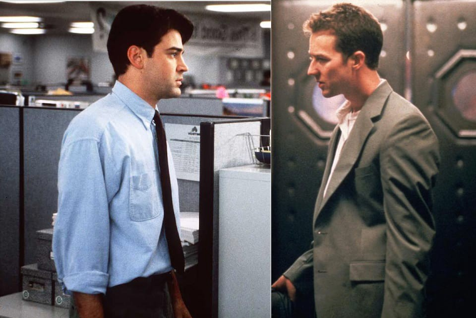 why �fight club� and �office space� are the exact same movie