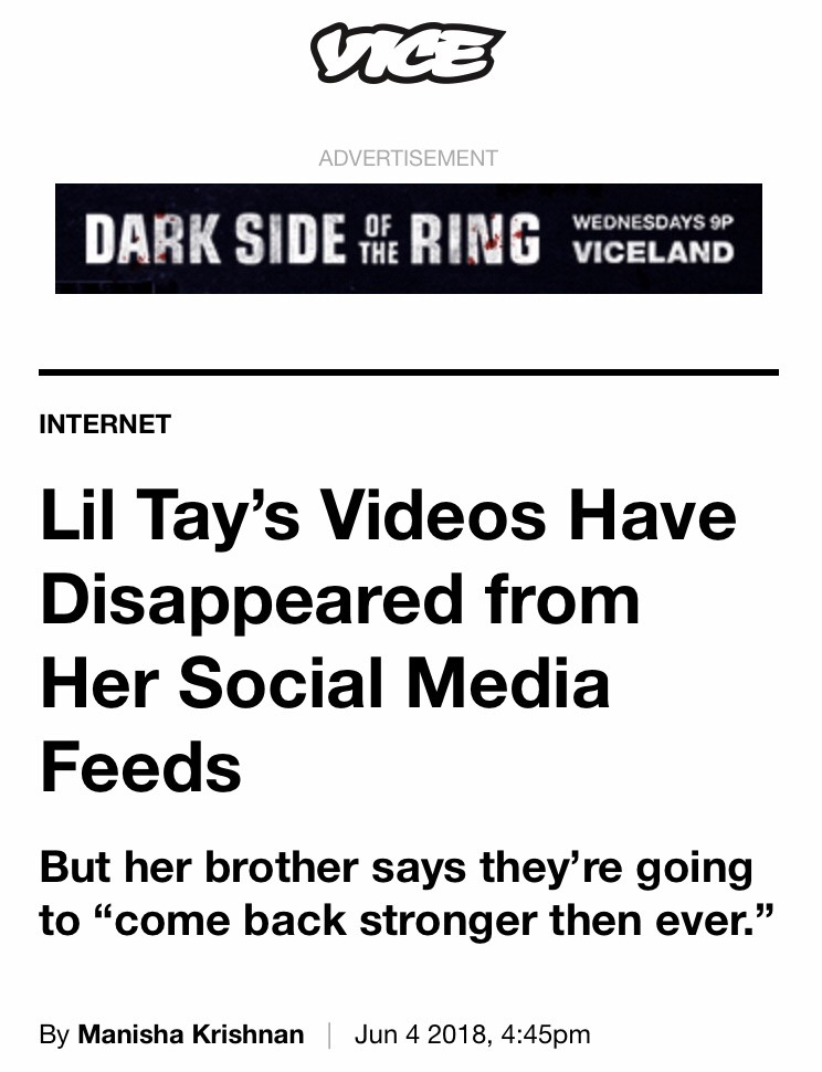 10-Year-Old Rapper Lil Tay Announces Summer Comeback Tour - Barstool