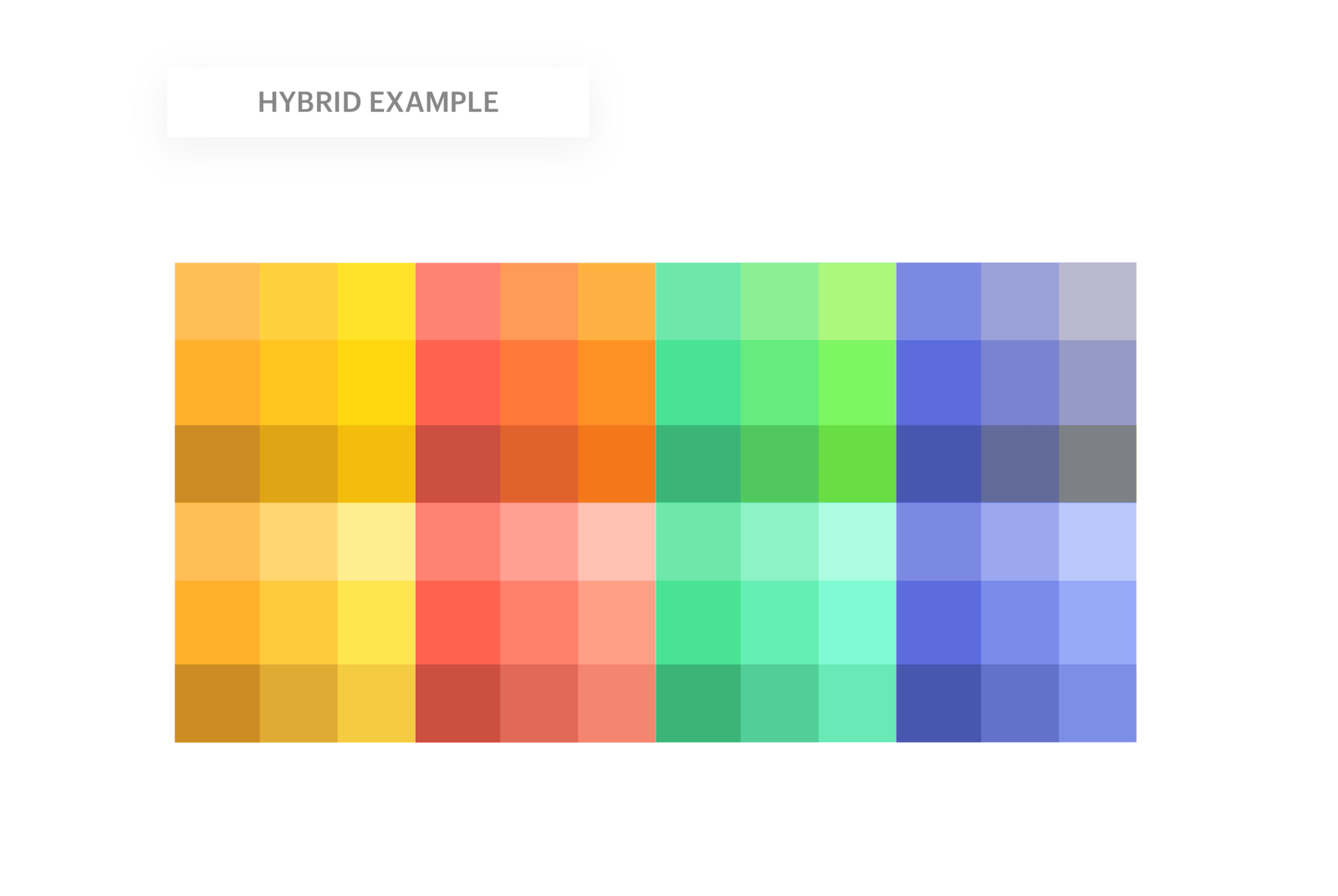 Building a Color Palette Framework