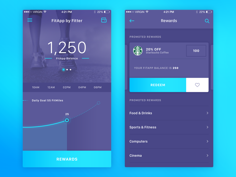 App Home Screen Design Inspiration