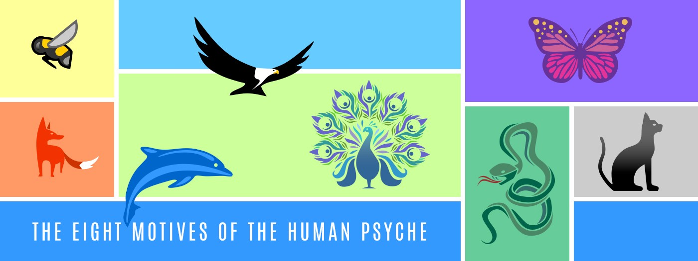 Discover the 8 motives of the human psyche and minimise your