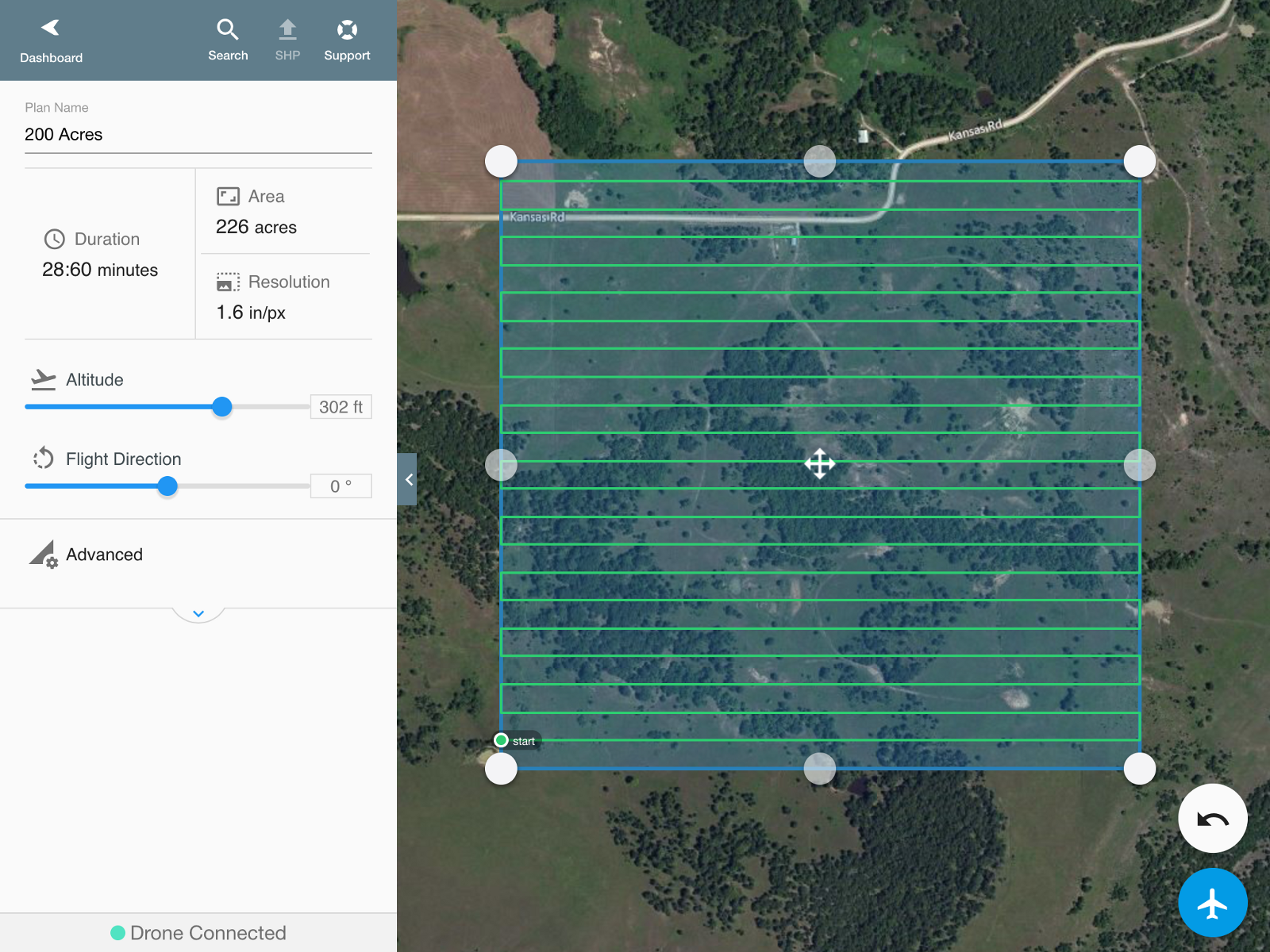 Create A Flight Plan From The Mobile App