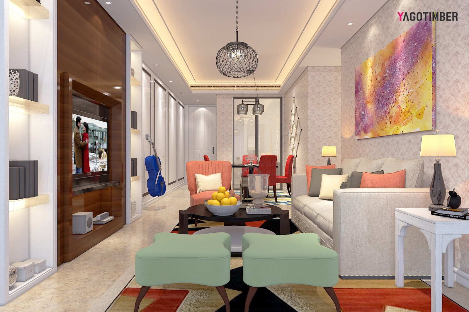 Get Rid Of Your Boring Home Interiors, Become Trendy