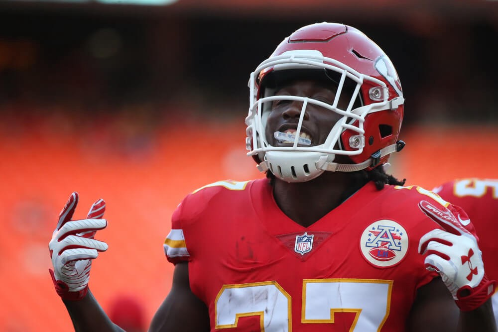Kansas City Chiefs running back Kareem Hunt allegedly punched a man in the face at an Ohio resort on Sunday morning after a verbal altercation