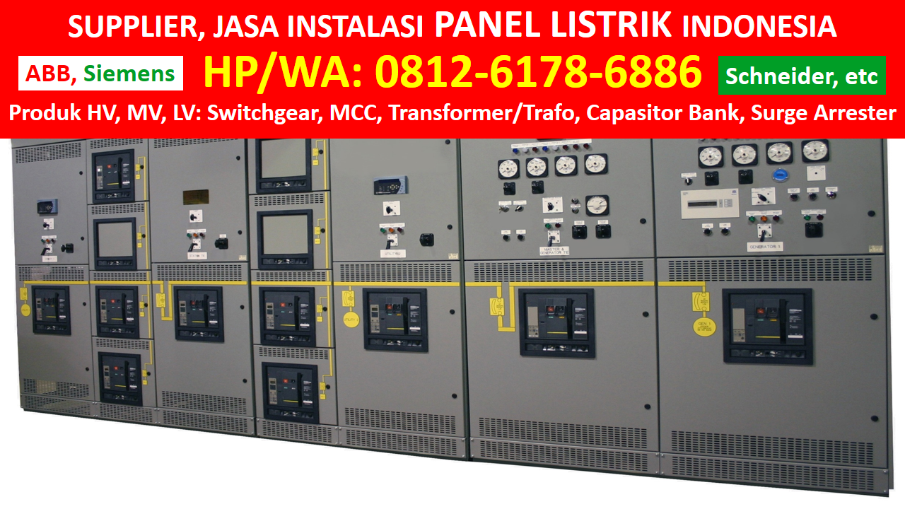 Hp Wa 081261786886 Tsel Distributor Panel Distribusi Utama Generator Circuit Breakers Gcb Abb Harga Capasitor Bank Intersys Jasa Pasang Listrik Jual Maintenance Air Insulated