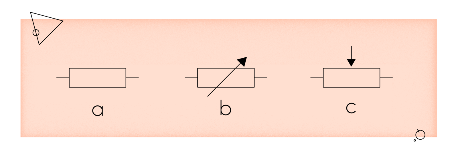 1 Electronics Whats That Resistors Infullmobile Blog Variable Resistor Diagram A Fixed Value B C Potentiometer