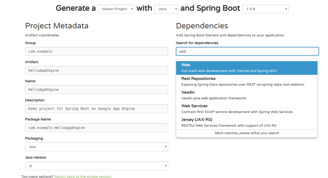 getting started with google app engine and spring boot in 5 steps