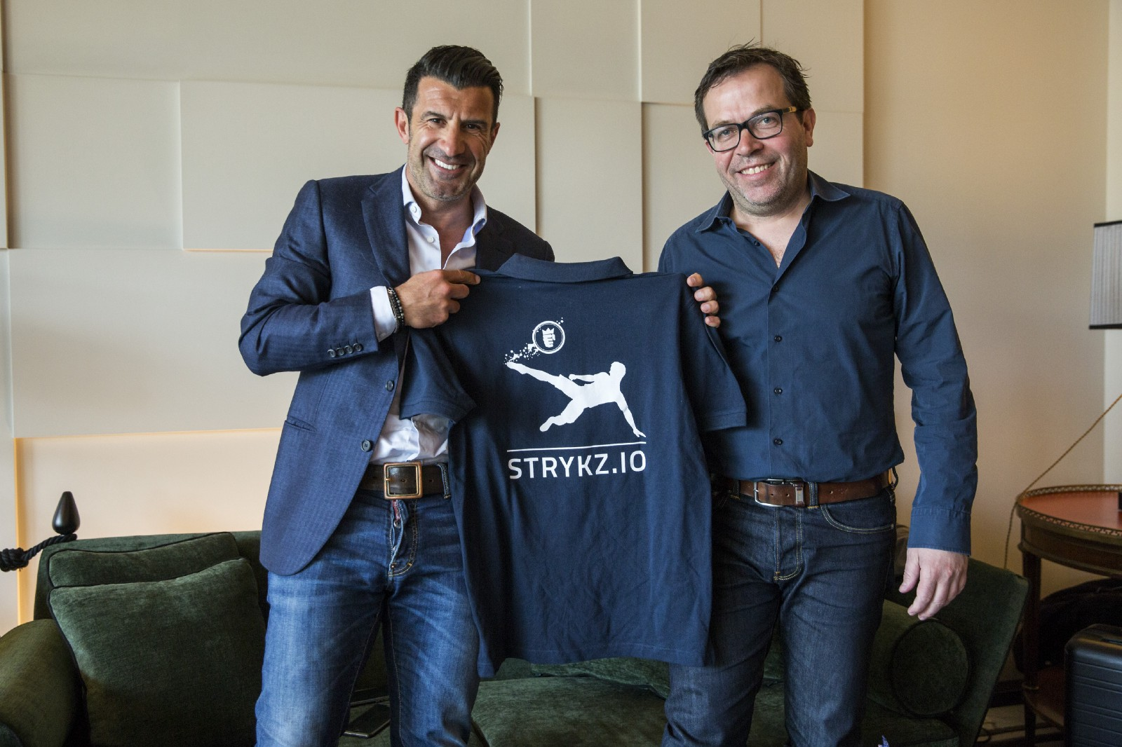 Figo Gmbh luís figo is football brand ambassador strykz medium