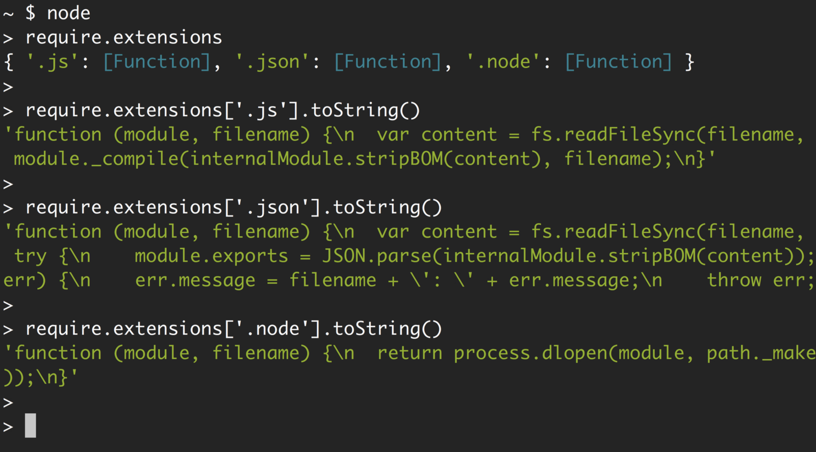 Requiring modules in Node.js: Everything you need to know