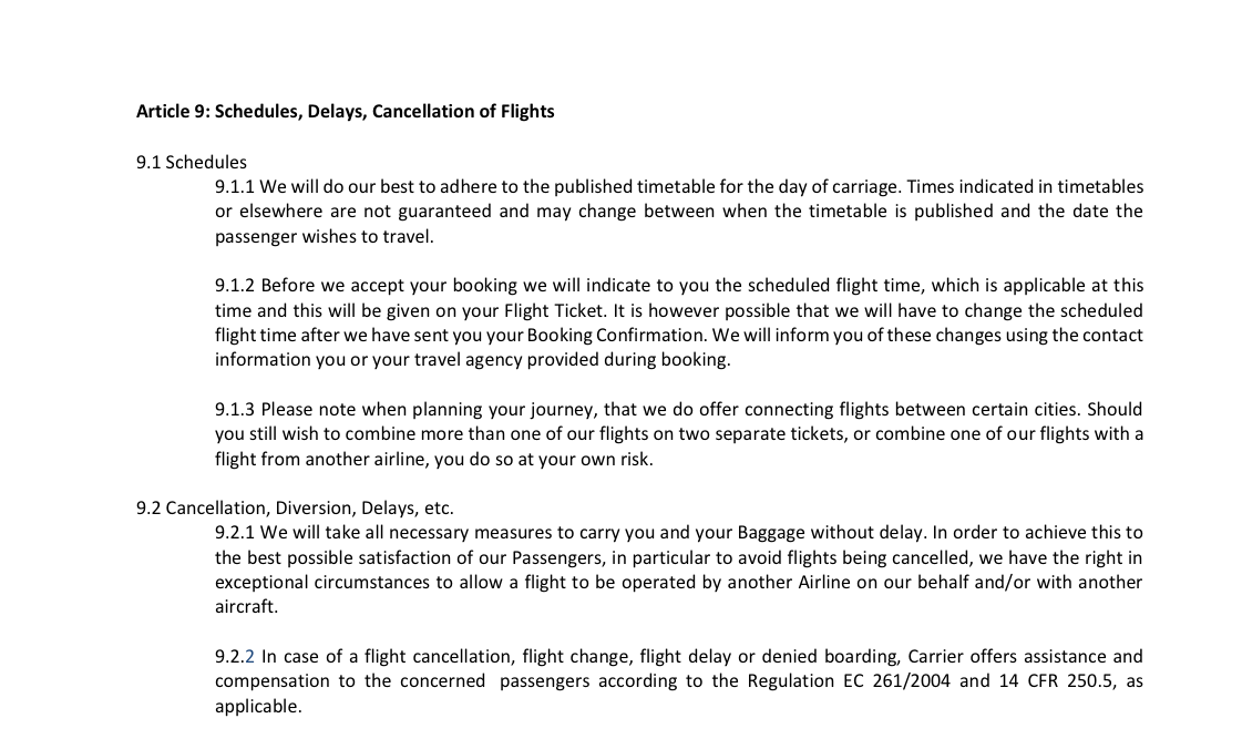 Why i will never fly wow air again and you shouldnt either the cancellation regulation from wow airs website thecheapjerseys Choice Image