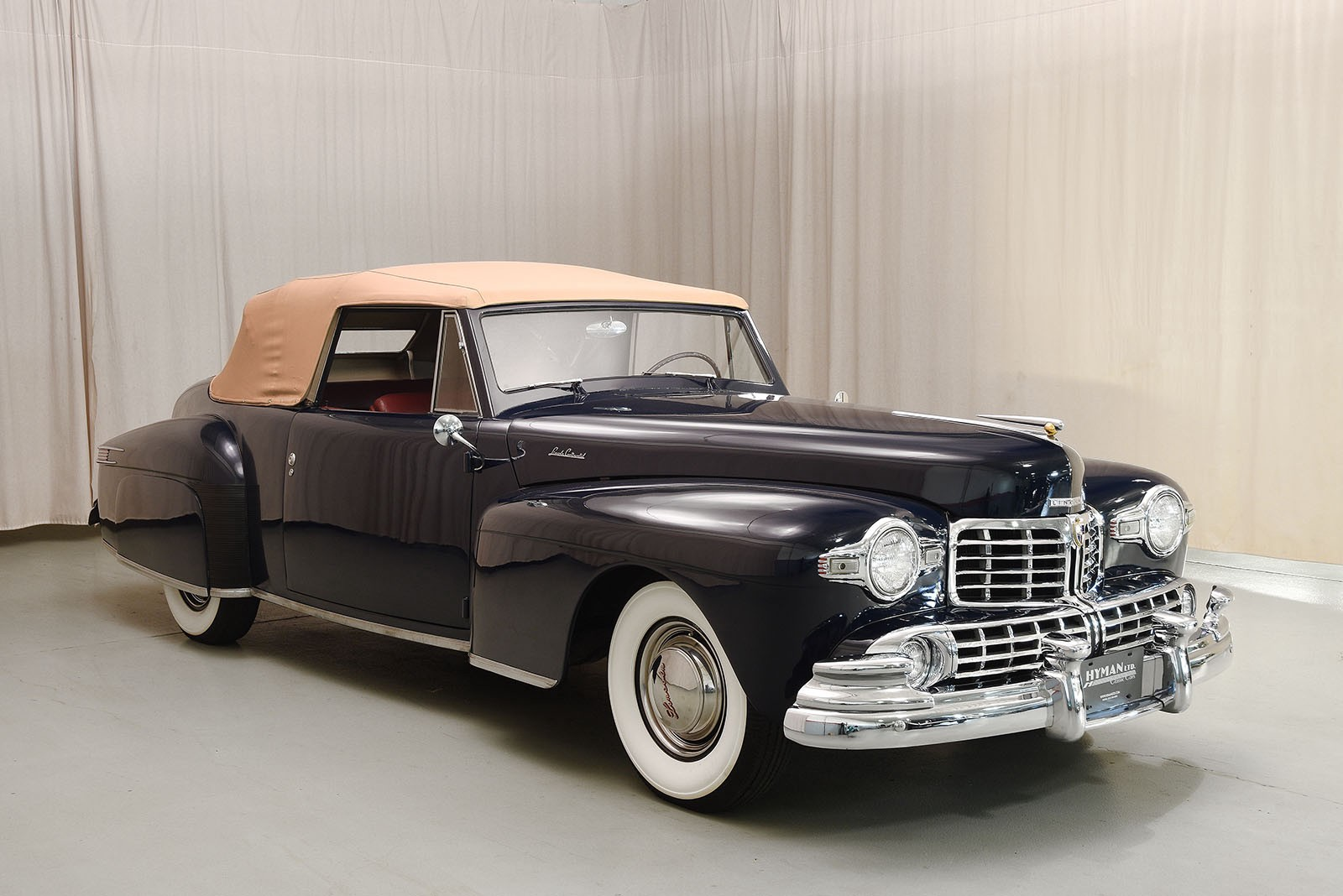 Mosky\'s Musings: CCCA Classics — 1947 Cadillac 62 & the 1948 Lincoln ...