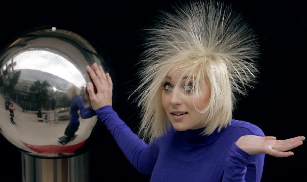 Static electricity hair images galleries with a bite - Remove static energy ...
