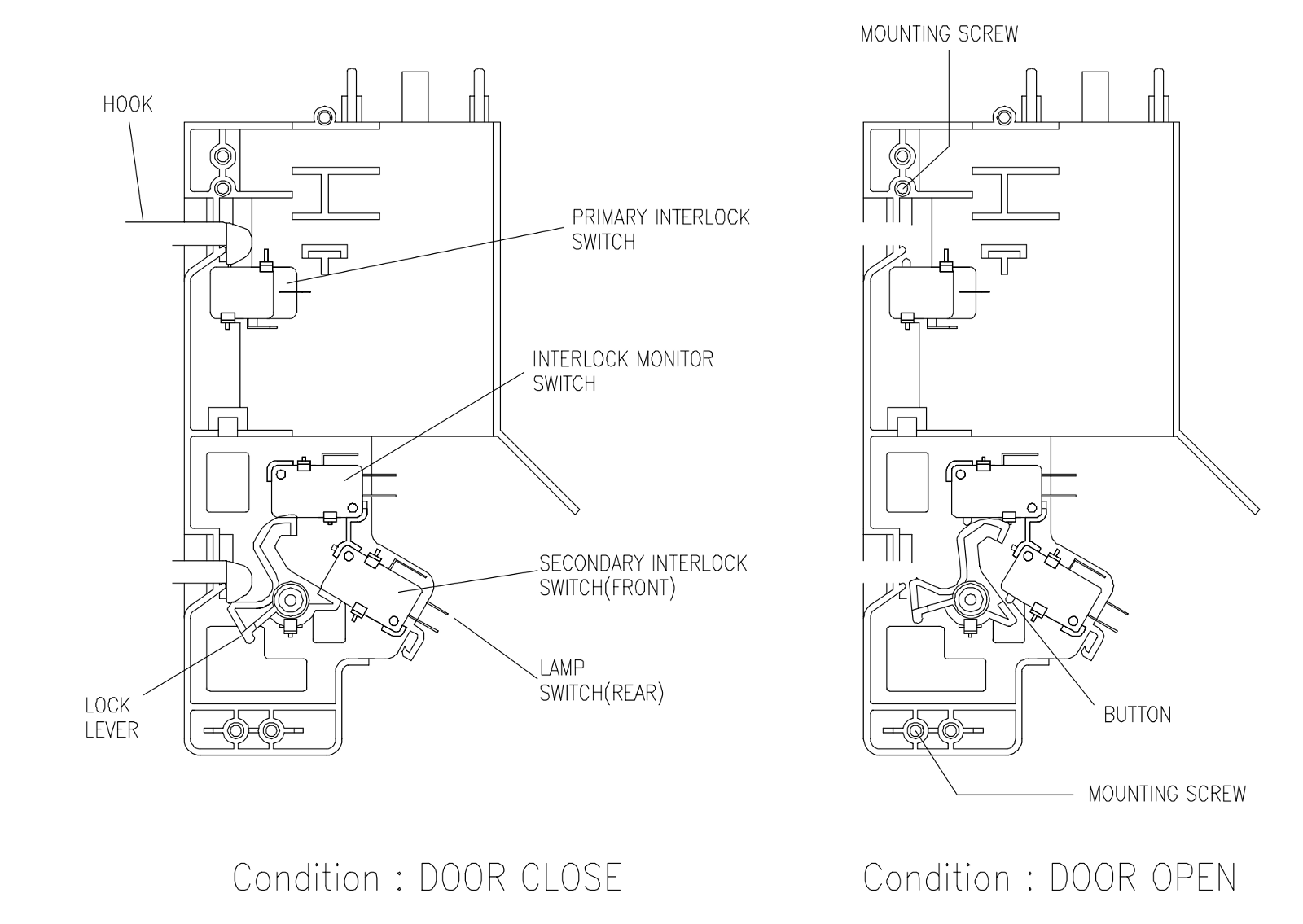 commercial convection oven wiring diagram