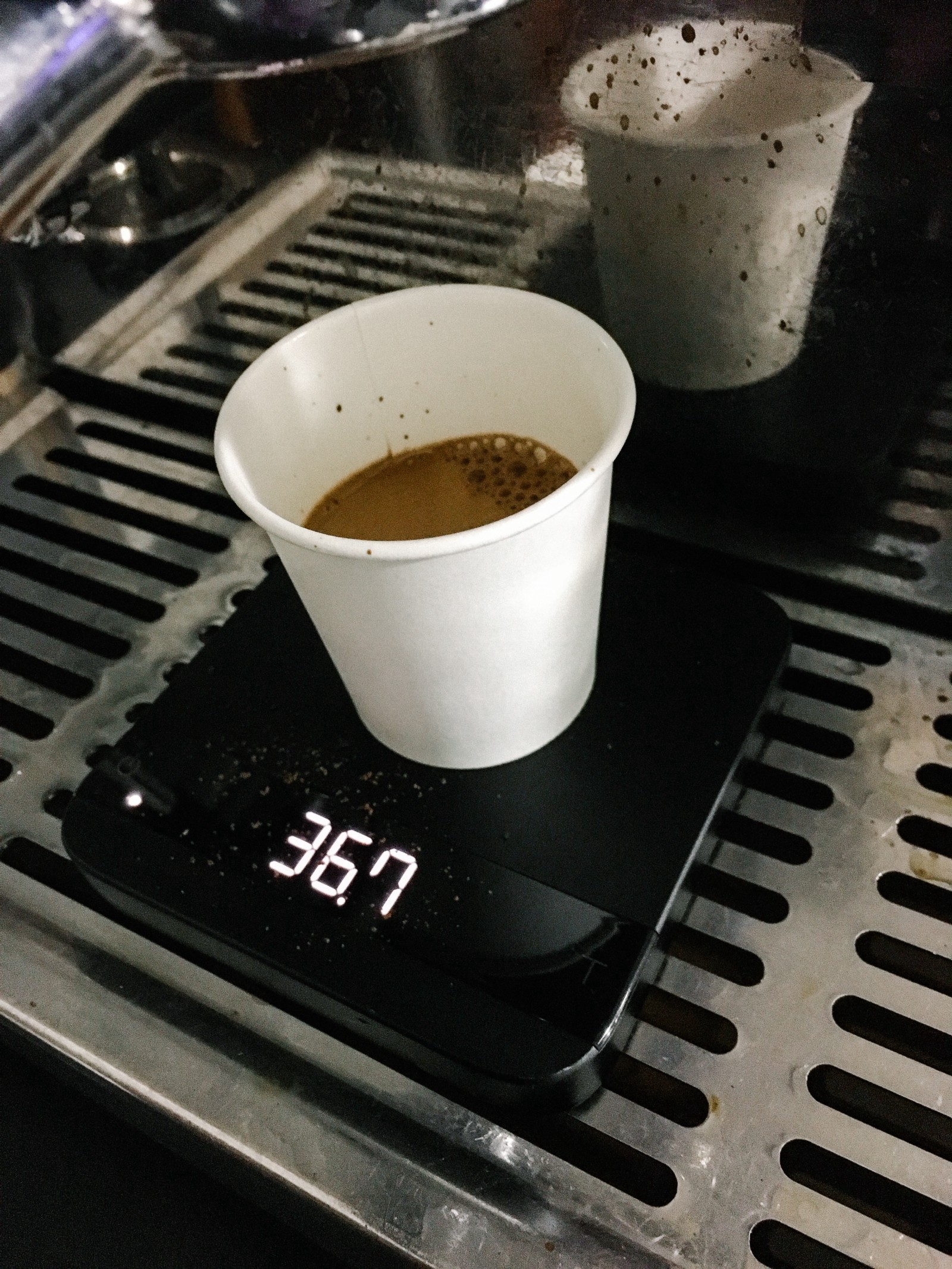 Brewing The Perfect Espresso Shot With Particle Photon Acaia Lunar Scale Was Then Connected Via Bluetooth To An Precision Water Resistant