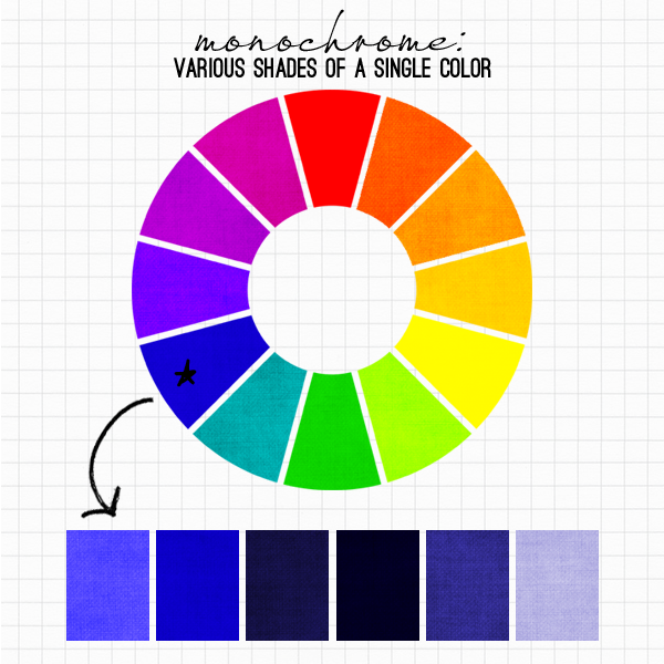 Pick a color and create Monochrome  Monotone images online
