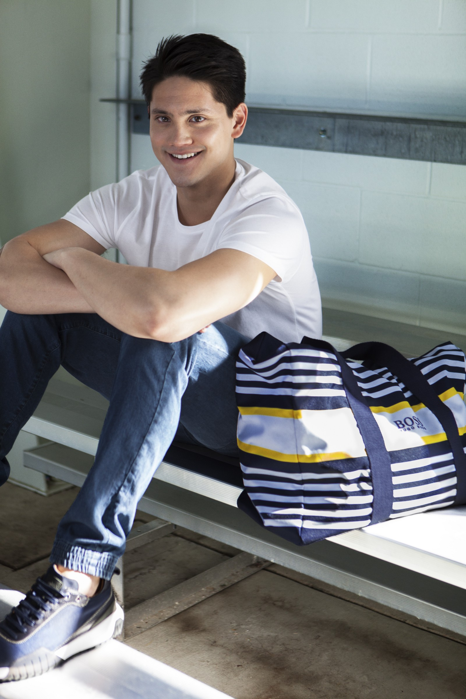 969898f784d HUGO BOSS Launches Limited Edition Capsule Collection with Joseph Schooling