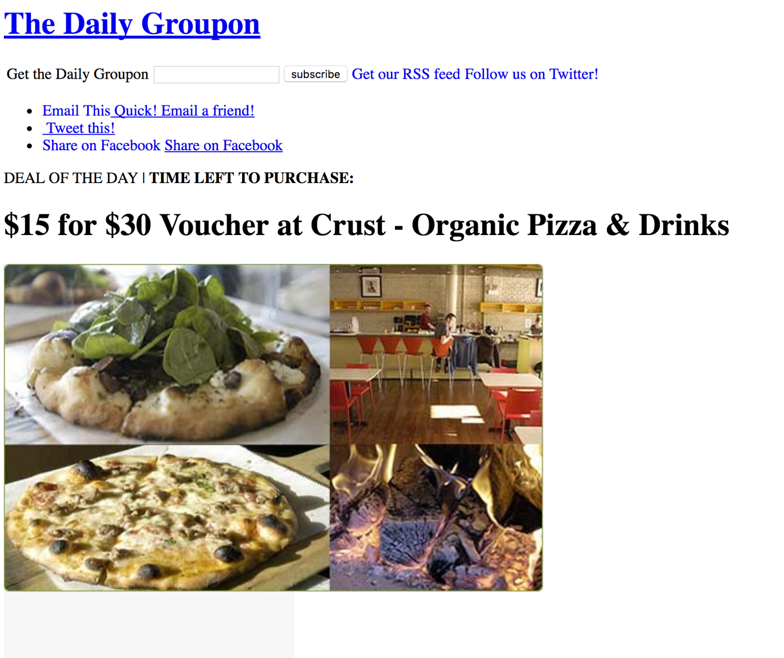 The Daily Groupon