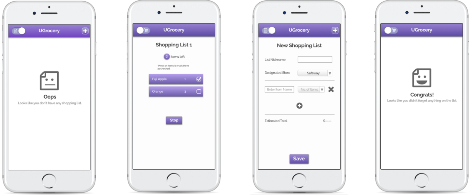 ugrocery plan and execute your grocery shopping jiewen luo medium