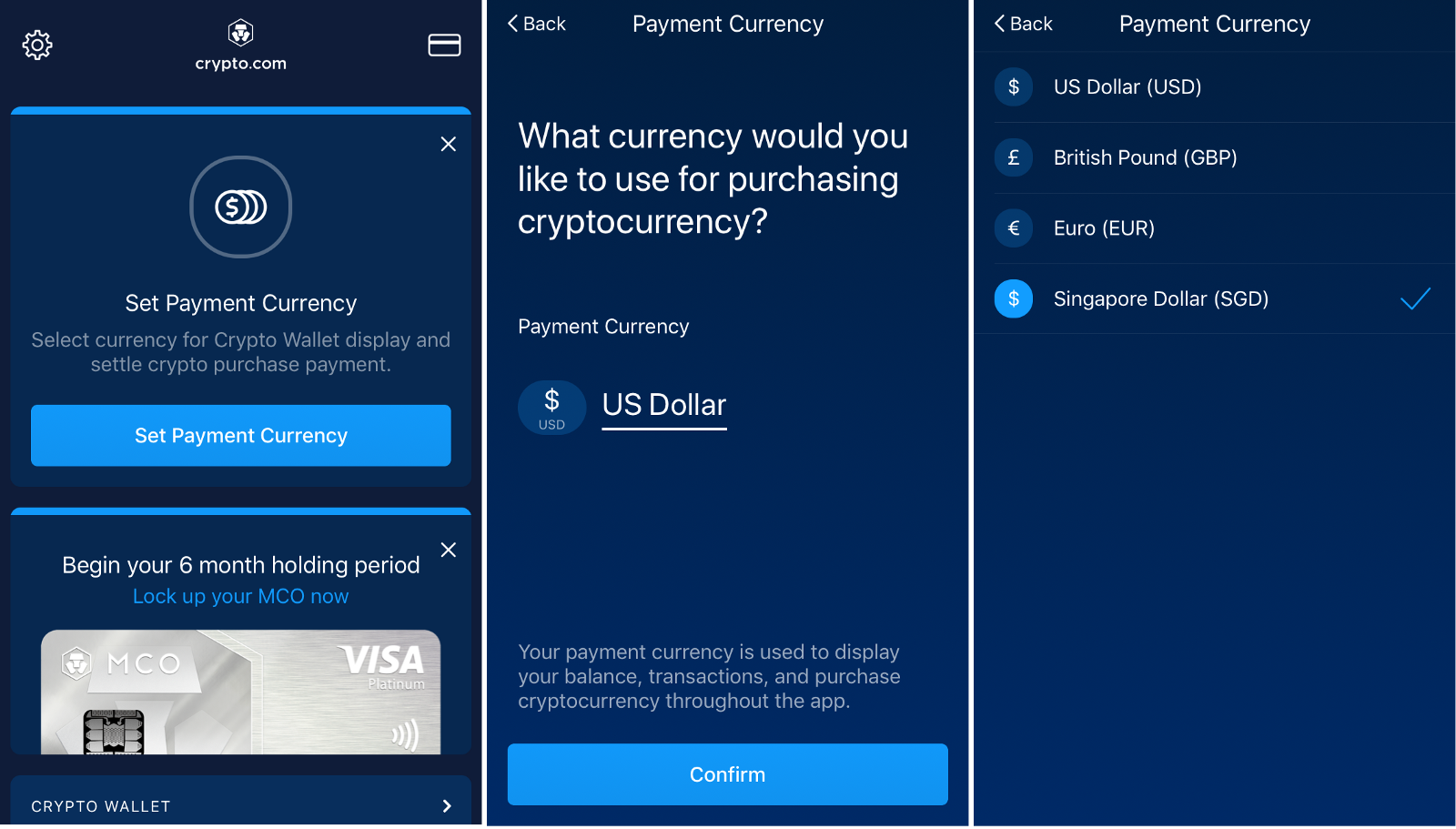 change cryptocurrency to usd