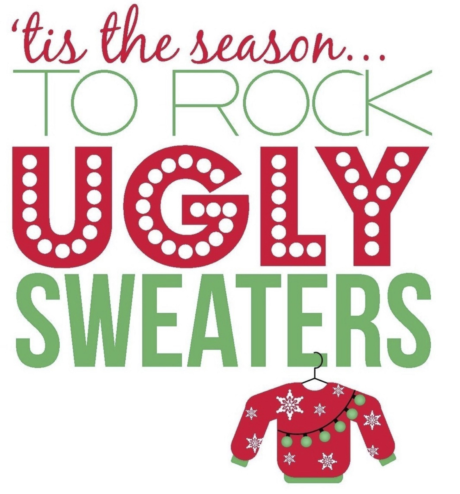 Ugly Christmas Sweaters Bring It On Original Reveries Medium