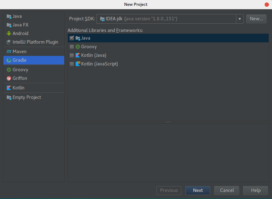 intellij idea gradle
