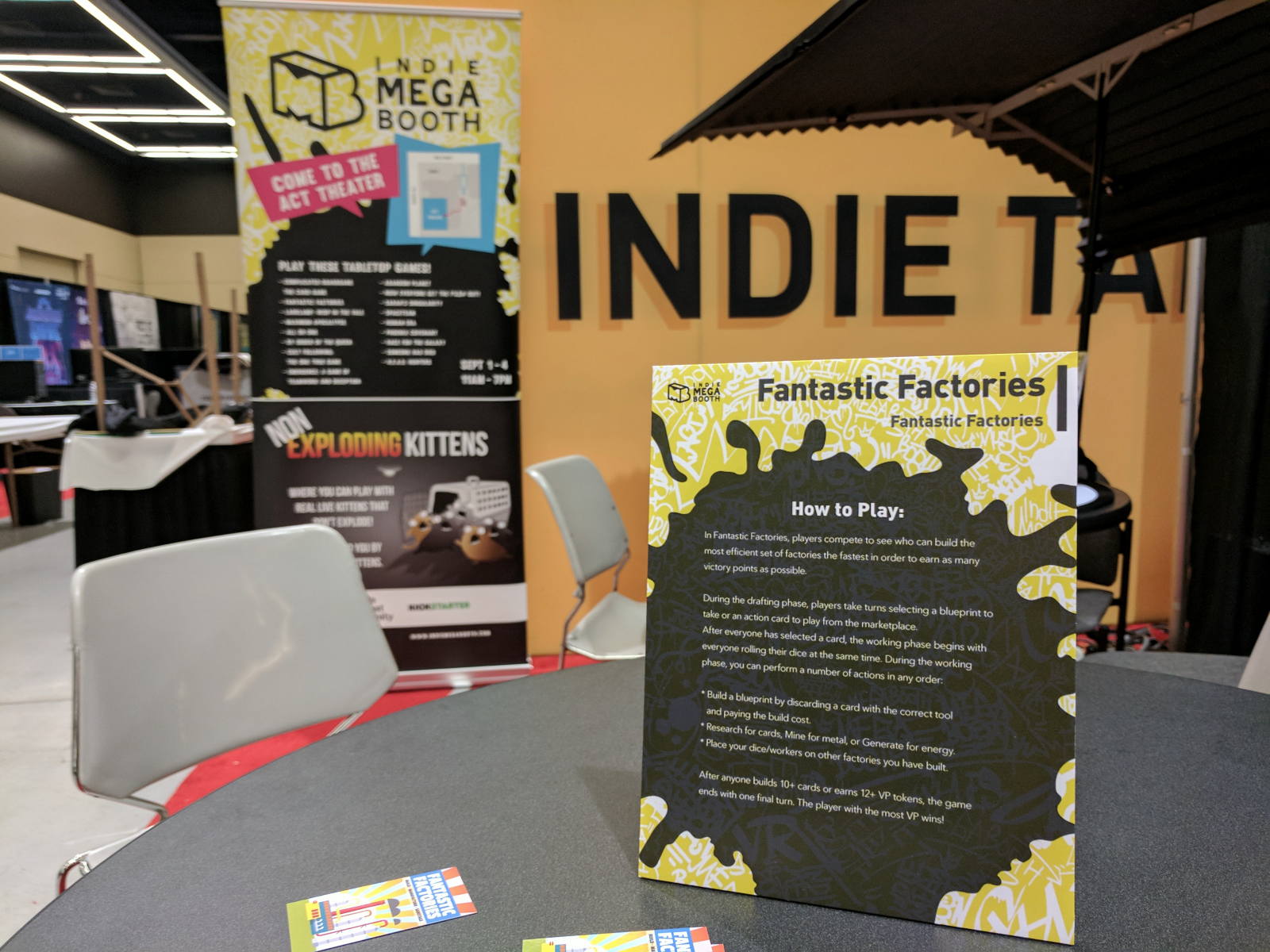 Pax west indie megabooth report joseph z chen medium we spent more than 50 hours doing pax related stuff we were at the sheraton pre pax board game night we were at the act theater all 4 days malvernweather Choice Image