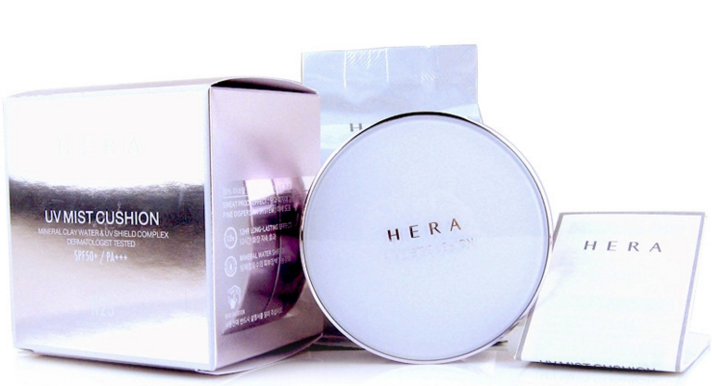 Skin care and beauty products from Korean cosmetic brands