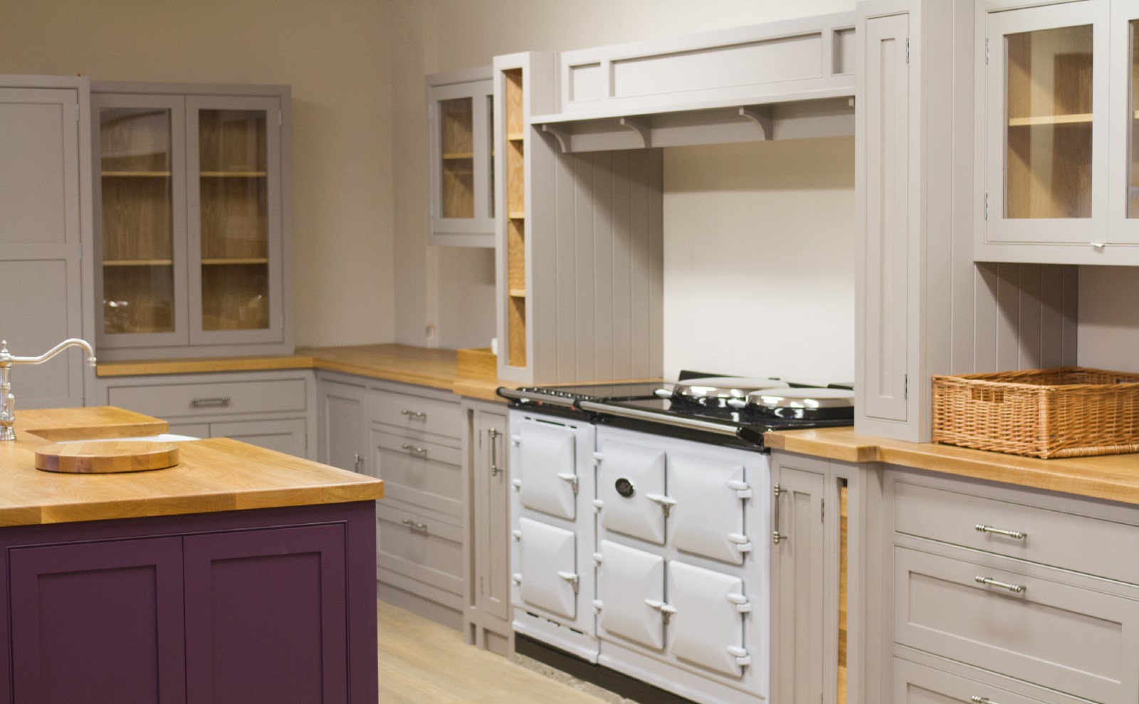 Hand Painted Kitchen Cabinetry