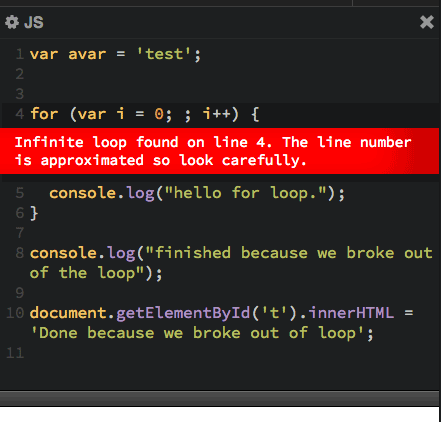code for an infinite loop I have a program which always run dead after one or two days, i think somewhere a piece of the code is suspicious of involving into a infinite loop.