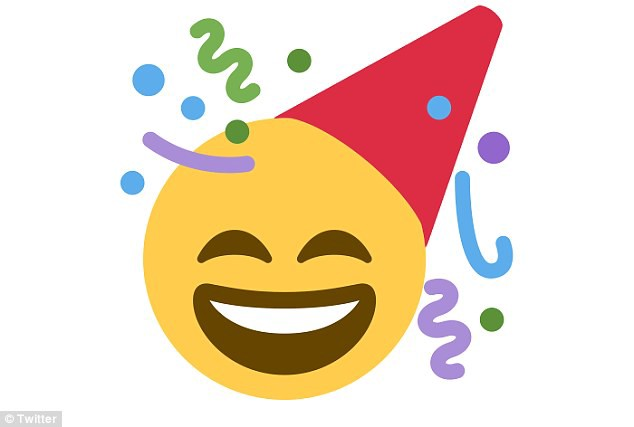 Birthday hat emoji
