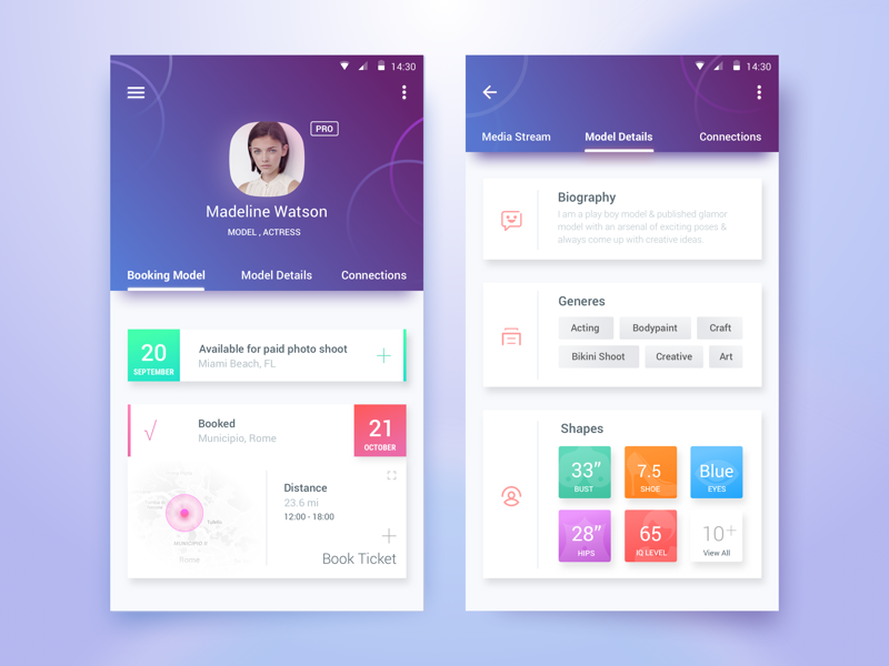 50 User Profile Page Design Inspiration Muzli Design Inspiration: best home design app for android