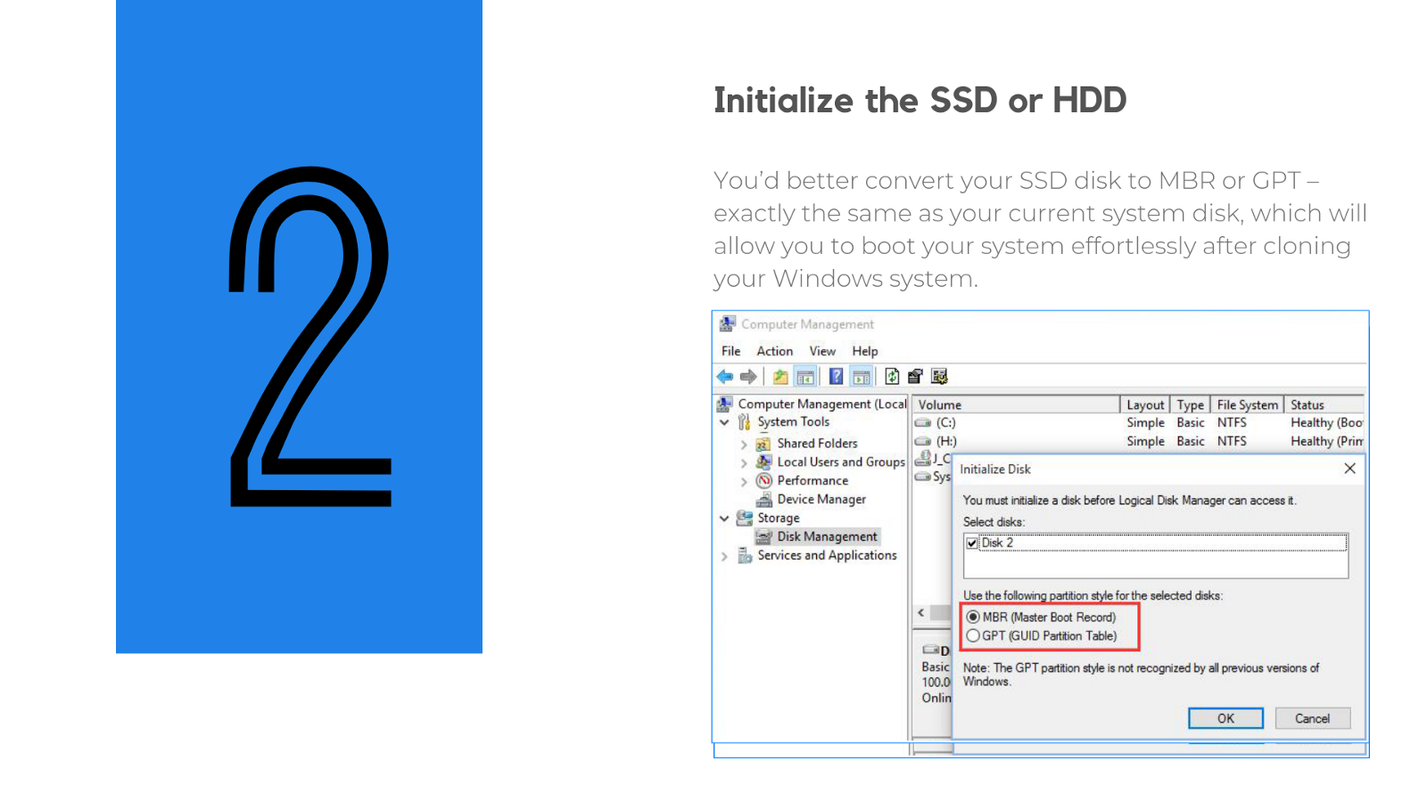 how to move windows 10 to ssd from hdd